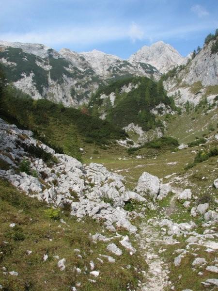 Planine ni več, podoba raja je še ... Ampak si jo je treba prislužiti ...