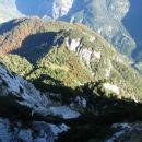 Tudi v (Prvo) Trento pade pogled globoko ...