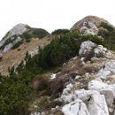 S predvrha na vrh Kaludra je še