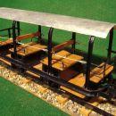 Vagon za prevoz ljudi (vse makete so izdelane v razmerju 1:10)