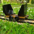CICKA - vagonček za prevoz jamskega lesa