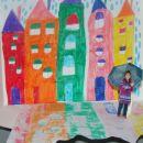 Deževen dan v mestu :)