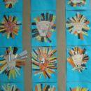 levčki (voščenka + barvni papir)