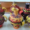 Antične vaze - kaširanje