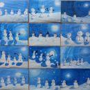 Snežaki v akciji :) - svetlostni odtenki