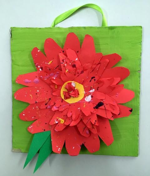 Rožice iz papirja - foto