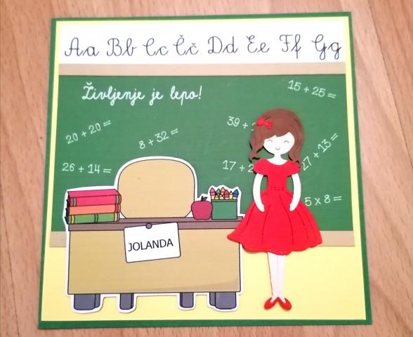 Rojstnodnevna voščilnica za učiteljico.