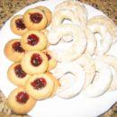 krapki in rogljički iz testa za orehove rogljičke SloKul