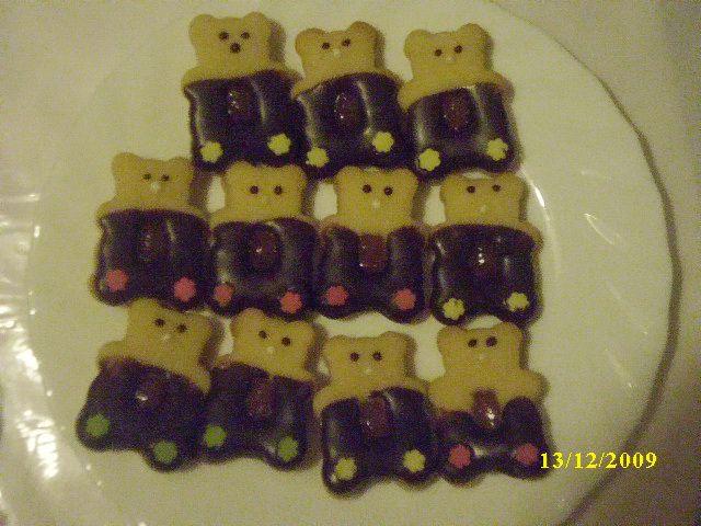 Medvedki - preprosti piškoti