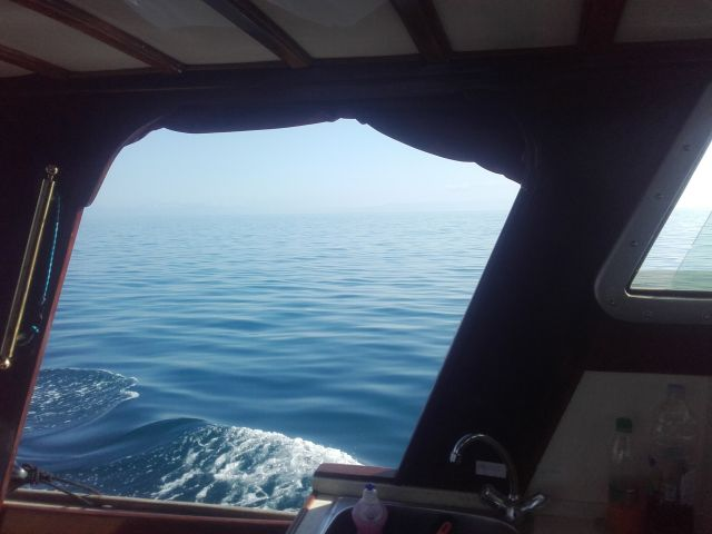 Prva plovba anapam - foto