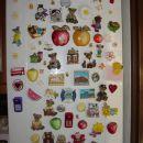 Naš hladilnik še brez swap magnetkov:)