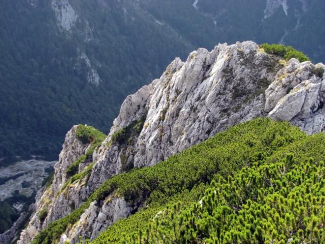 Bosova grapa - Kaptanski greben - Brana - 20. - foto