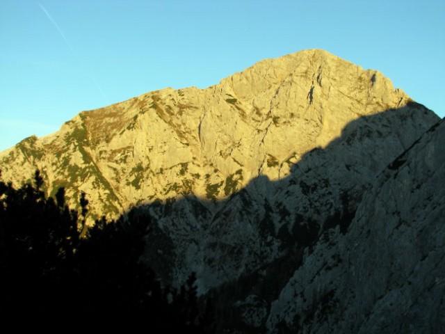 Brana s Šijo in Kaptanskim grebenom