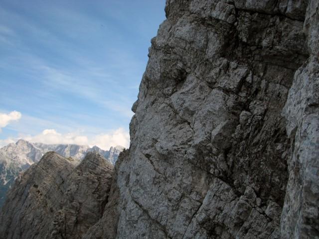 Pogled iz stene proti Šitni glavi.