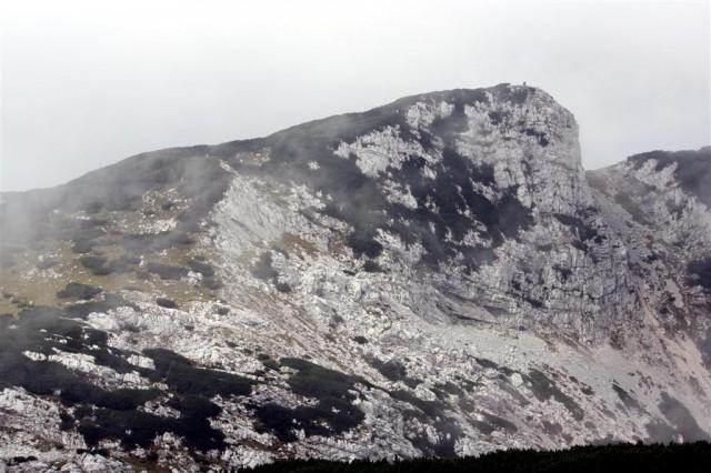 Vrh Korena, 1 m pod 2000 je visok.