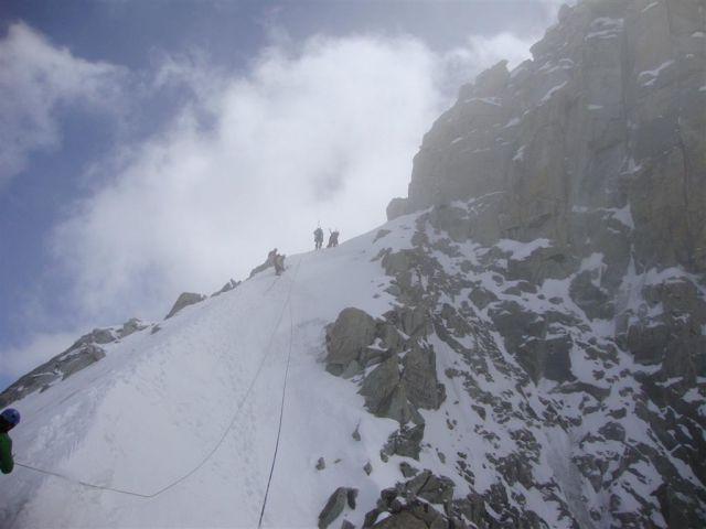 AŠ Kamnik - ledeniški tečaj - 24. - 27.4.2010 - foto