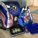 Šolska torba hama step by step