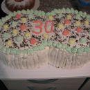 torta za mojih 30 let ( ni moj izdelek )