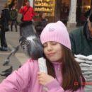 Jaz hranim golobe v Benetkah