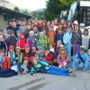 pionirske in mladinski ekipi PGD Dobračeva na tekmovanju v Škofji Loki