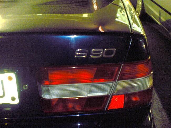 Volvo S90 - foto povečava