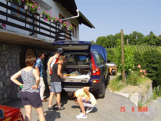 Volvo KLUB PIKNIK Slovenska Bistrica 25.6.200 - foto