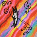 musical butterfly