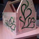 poslikava škatle za časopis