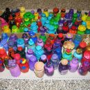 Stekleničke - narejene na delavnici 3.in 4. marca