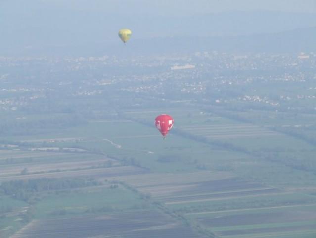 Polet z balonom - foto