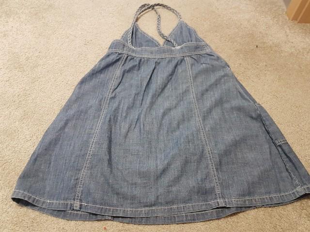 Tanek jeans oblekca, čudovita, vel. S