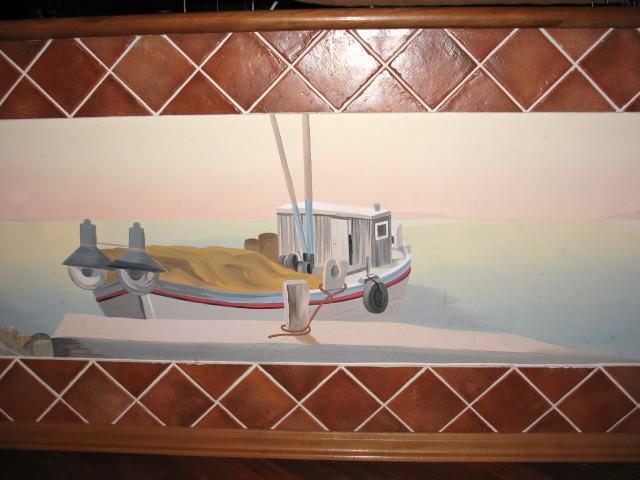 Bonaca, pralna poslikava stene, 60 x 200 cm