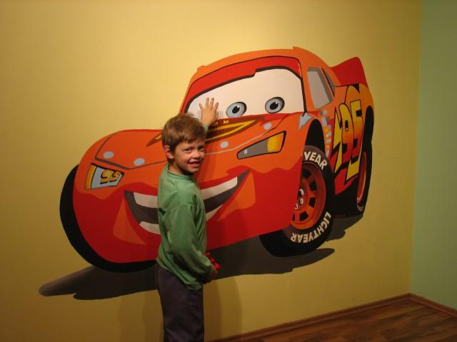 Poslikava stene-otroška soba
