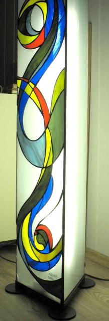 Stoječa svetilka, detajl