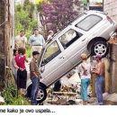 Rezultat  ženskega voznika!
