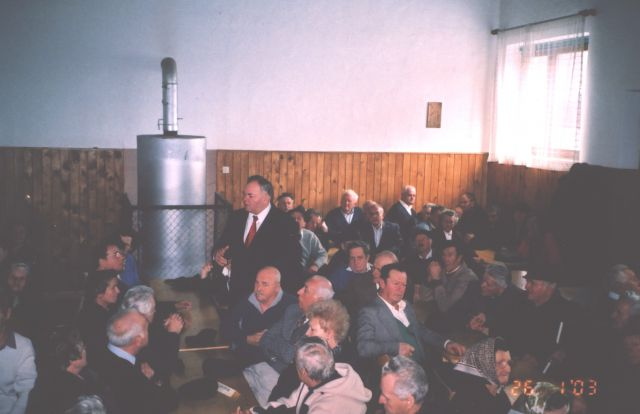 2003 srečanje v dvorani