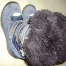 podloženi škornji