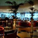 Zlata polna notranjost hotela Burj al arab...