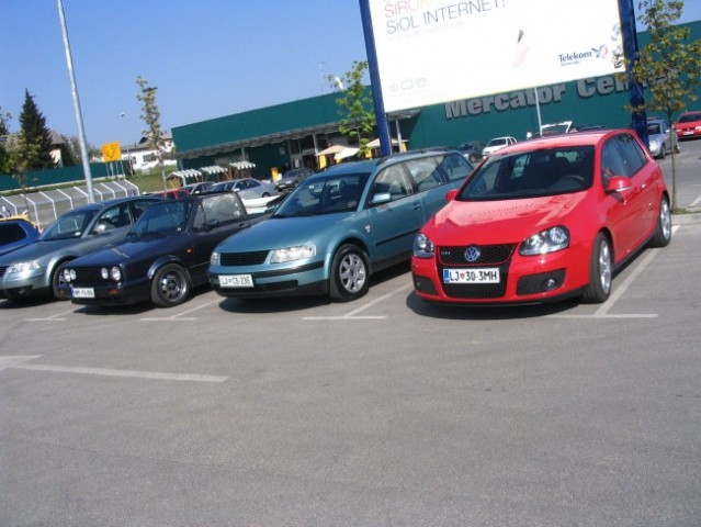 Trebnje meet VW-team  - foto