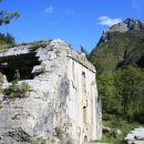 Bovec Kluže Fort Hermann WW1