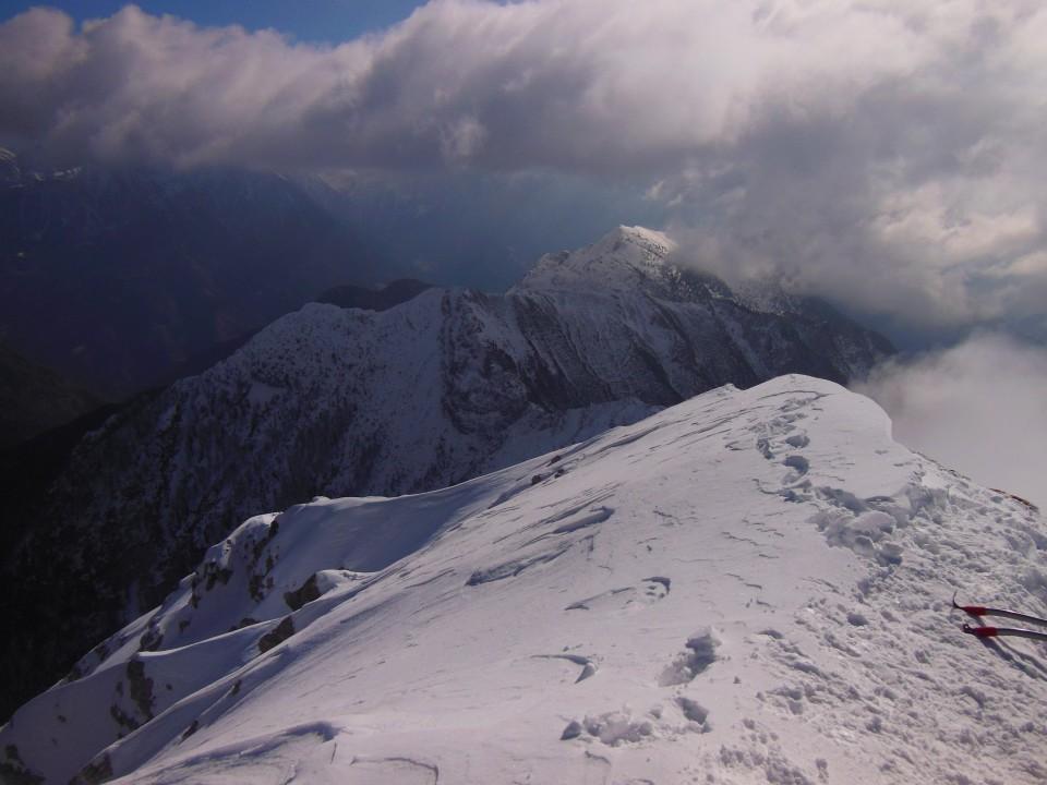 Storžič-M. Grintovec-Srednji vrh (12.03.17) - foto povečava