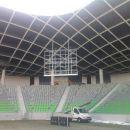 Podkonstrukcija monitorja-nogometni stadion Stožice.
