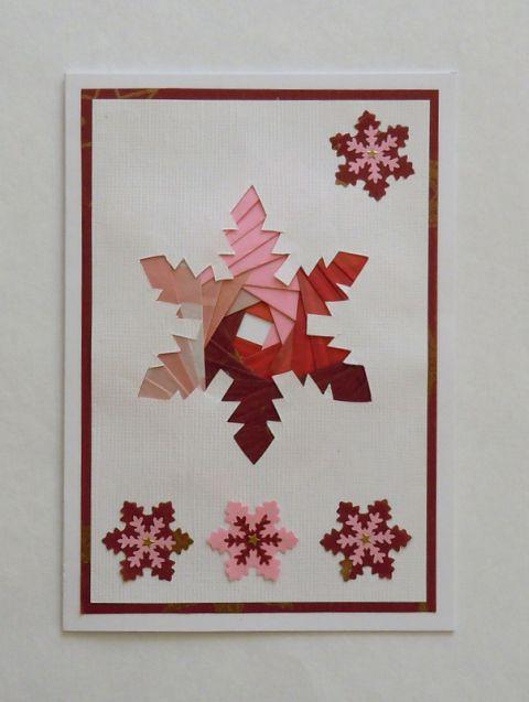 Voščilnice - iris folding - foto
