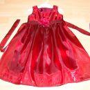 oblekica v 110/116 cena 35 eur nova unikatna  barva bolj vinsko rdeča podpazduha 31,5 cm
