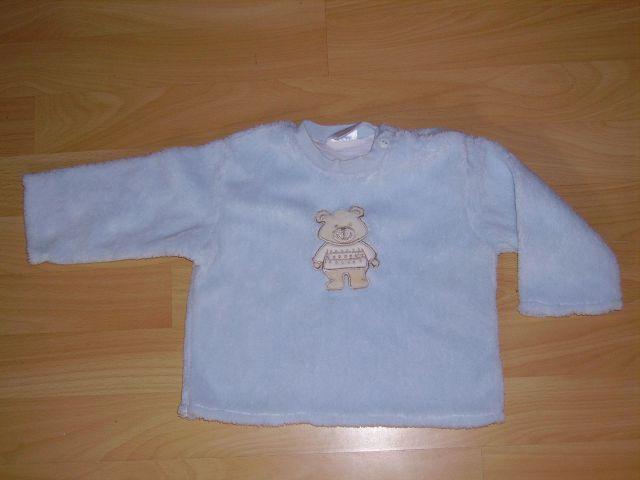Mehki debeli pulover PRETTY BABY v 74 cena 4 eur
