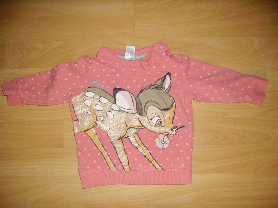 pulover DISNEY v 74 cena 4 eur oblečen par krat - od spodaj kosmaten