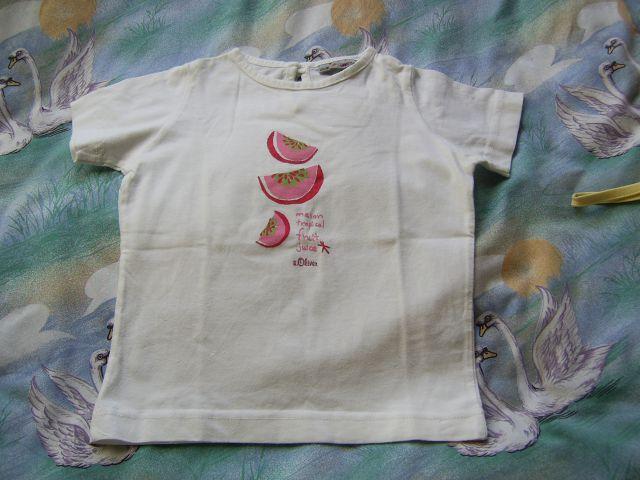 Majčka S.OLIVER v 92 cena 3 eur oblečena par krat