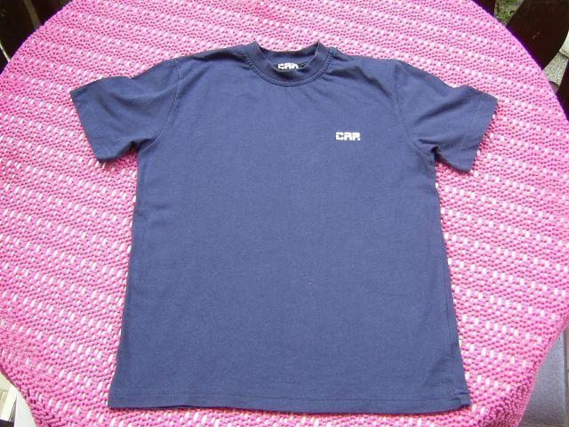 Majčka CAP v 116 cena 1 eur oblečena par krat temno modre barve