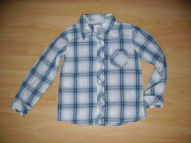 Dekliška srajčka h&m v 116 cena 4 eur oblečena 3-4 krat