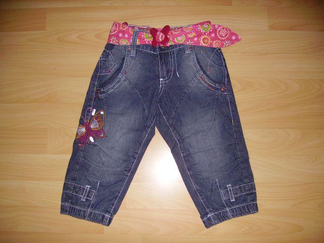 3/4 hlače DOPODOPO v 116 cena 5 eur  oblečene par krat imajo regulator